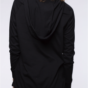 blaQ Light Hooded Top back