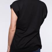 blaQ Overzied V-neck Tunic back