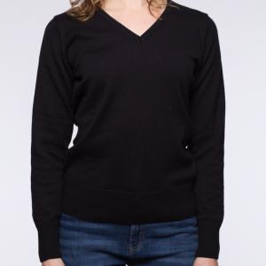 blaQ V-Neck Pullover front